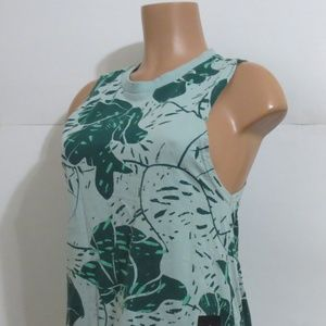 ⭐For Bundles Only⭐adidas Top Tank Teal Floral M